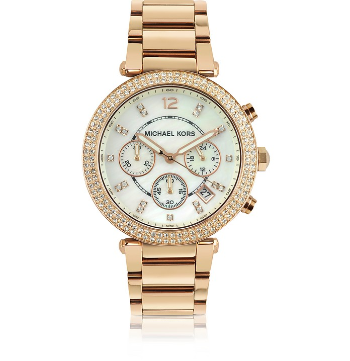 Glitz-Top Chronograph Watch - Michael Kors
