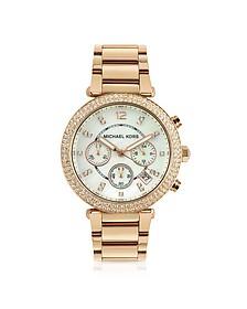 Glitz-Top Chronograph Watch - Michael Kors