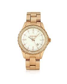 Small Madison Crystal Bezel Watch