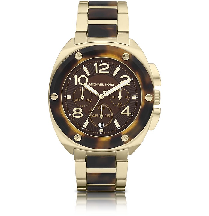 Mid-Size Tribeca Chronograph Watch - Michael Kors
