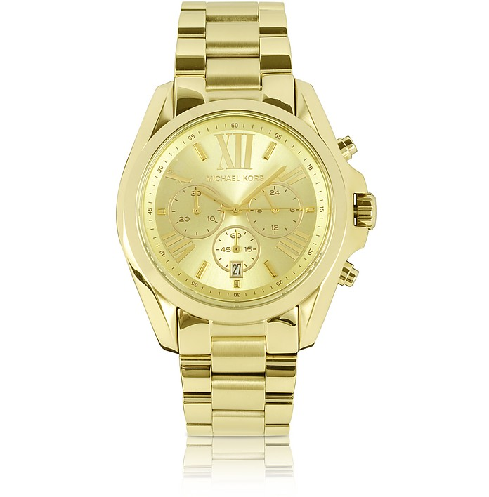 Mid-Size Bradshaw Chronograph Watch - Michael Kors