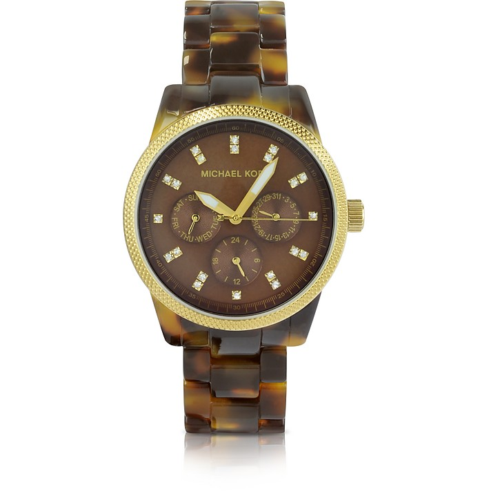 Tortoise Jet Set Watch - Michael Kors