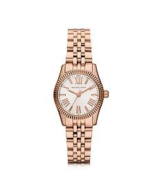 Petite Lexington Gold-Tone Stainless Steel Women's Bracelet Watch