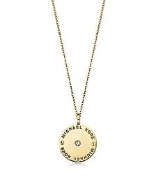 Heritage Halskette mit Kristallen  - Michael Kors