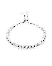 Brilliance Stainless Steel and Crystals Beads Bracelet - Michael Kors