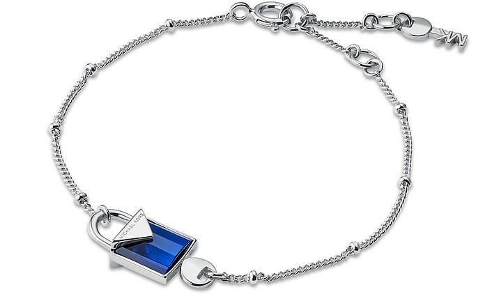 Mercer Sterling Silver Lock Bracelet Women's Bracelet - Michael Kors
