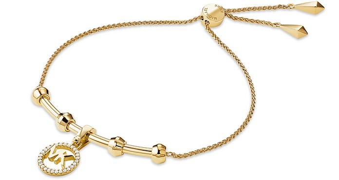Custom Kors 14K Gold Plated Women's Bracelet - Michael Kors