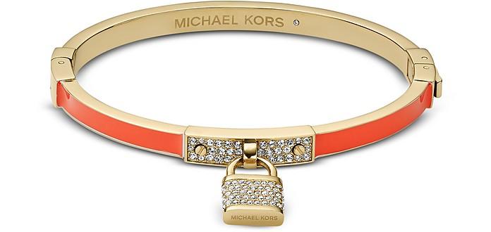 Pave Padlock Hinge Bracelet - Michael Kors