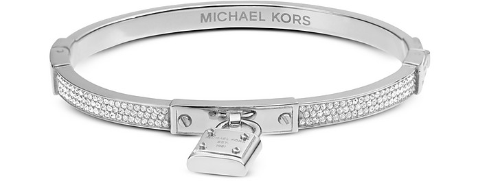 Brilliance Pave Bangle Bracelet - Michael Kors