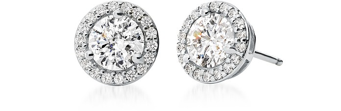 Precious Metal Sterling Stud Pavé Earrings - Michael Kors