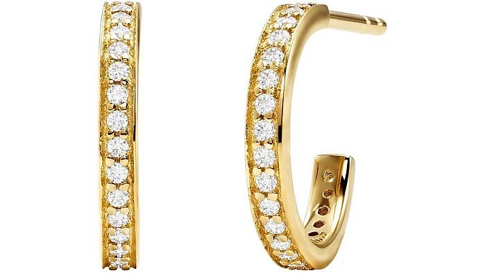 Mercer Link 925 Sterling Silver Women's Earrings - Michael Kors