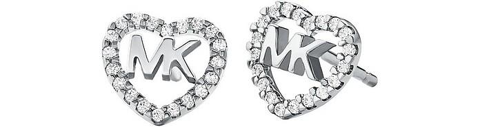 Kors Love 925 Sterling Silver Women's Earrings - Michael Kors