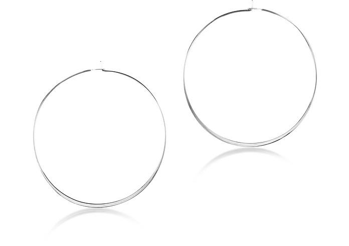 Whisper Medium Hoop Earrings - Michael Kors