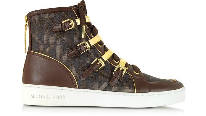 Kimberly Brown Signature High Top Sneaker - Michael Kors
