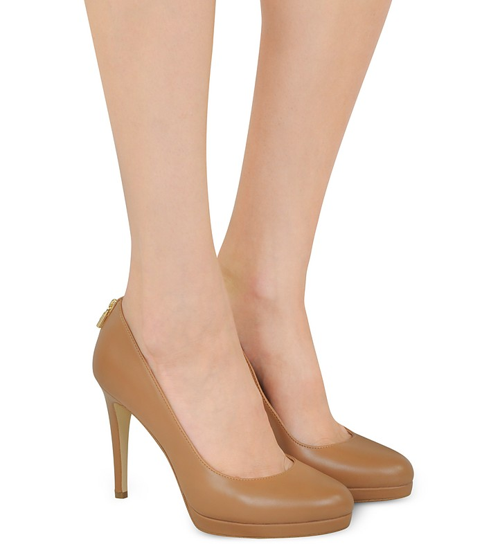 af0ffaa995dd Antoinette Acorn Leather Heel Pumps - Michael Kors. C 263.00 Actual  transaction amount