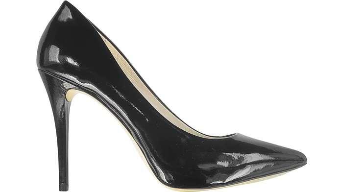 430f0bc9db9f Joselle Black Patent Leather Pointed-Toe Pump - Michael Kors.  150.00  Actual transaction amount