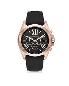 Bradshaw Rose Goldtone Stainless Steel Men's Chronograph Watch - Michael Kors