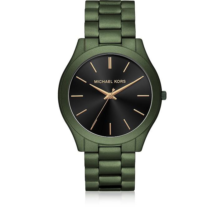 Green Slim Runway Men's Watch - Michael Kors