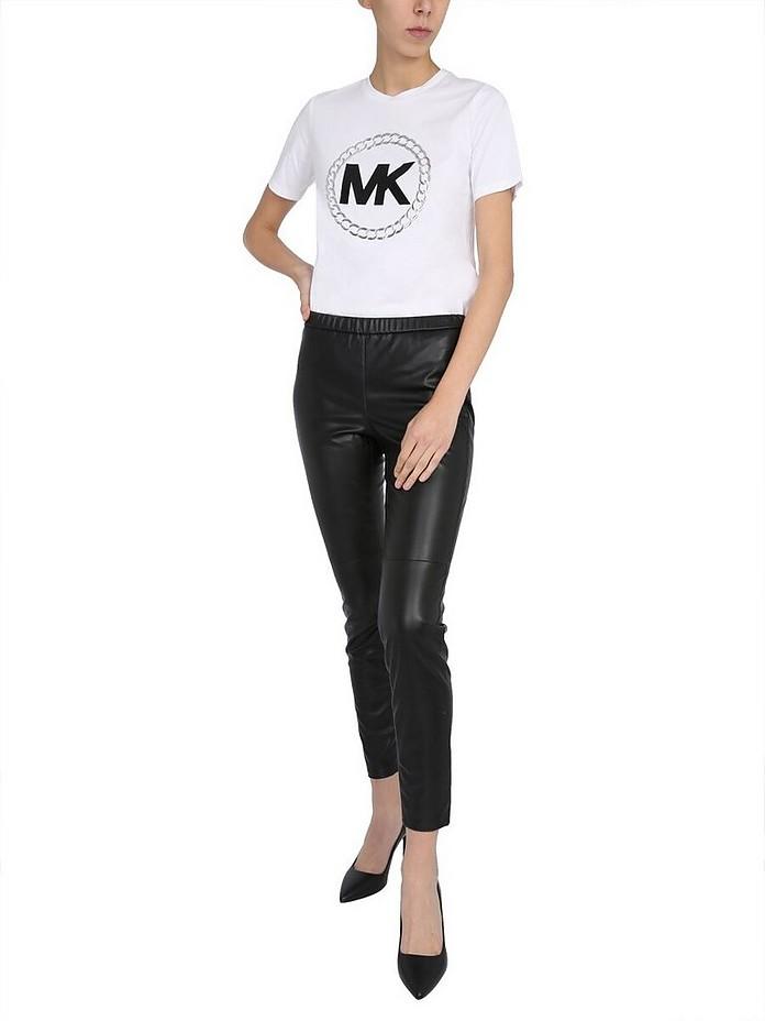 Faux Leather Leggings - Michael Kors