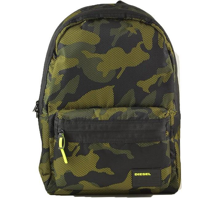 Green Camouflage printed Nylon Men's Backpack - Diesel / ディーゼル