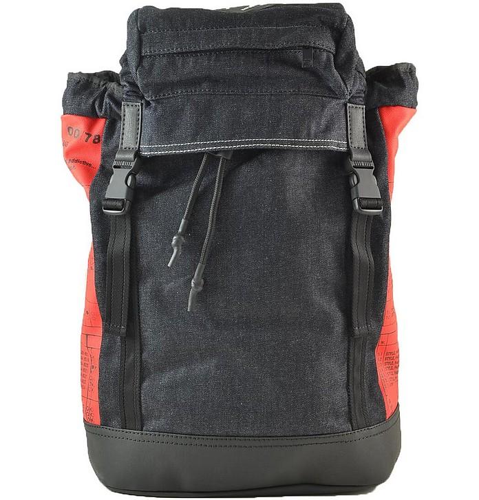 Red/Blue Men's Backpack - Diesel