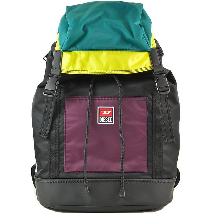 Color-Block Nylon Men's Backpack - Diesel / ディーゼル