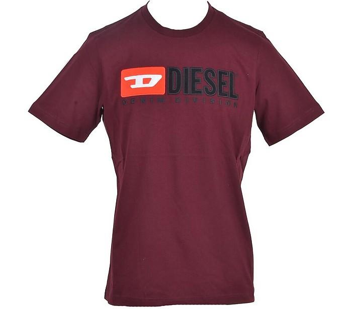 Men's Bordeaux T-Shirt - Diesel / ディーゼル