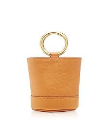S801S Sand Pony Leather Bonsai 15 cm Bag - Simon Miller