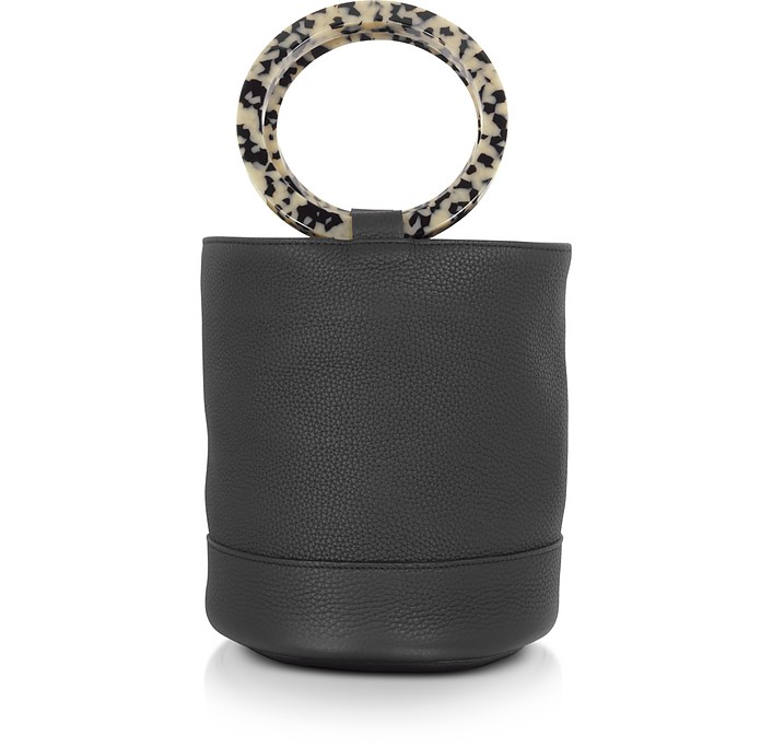 S804 Leather Bonsai 20 cm Bag - Simon Miller