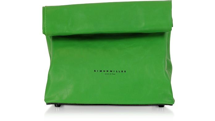S809 Leather 20 cm Lunch Bag - Simon Miller