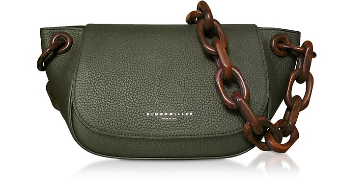 Grained Leather Fir Bag - Simon Miller