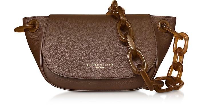 Grained Leather Fir Bag - Simon Miller