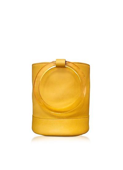 Sun Yellow Bonsai 20 Bucket Bag - Simon Miller