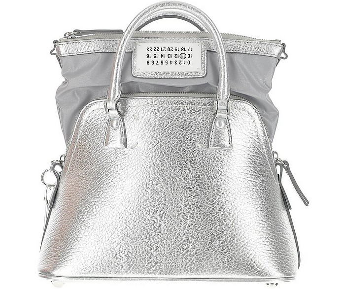 Metallic Leather Tote Bag - Maison Margiela