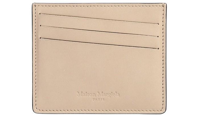 Card Holder With Logo - Maison Margiela
