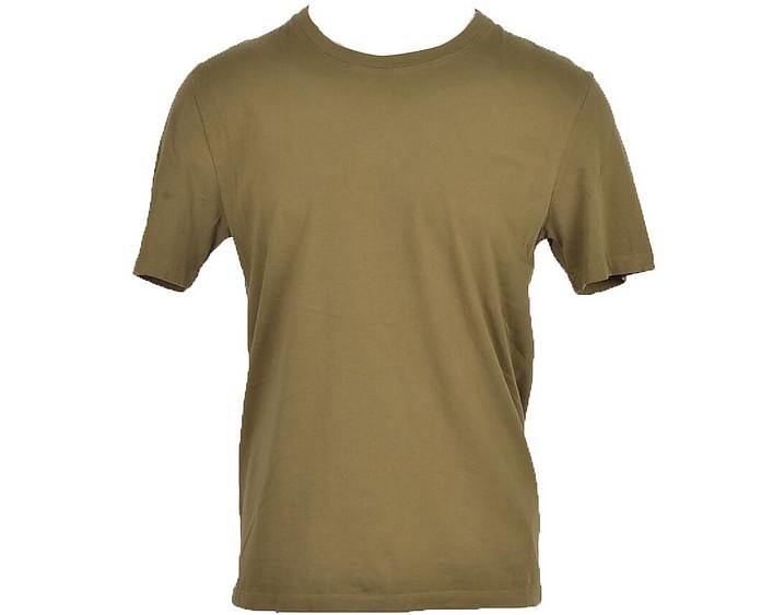 Men's Green T-Shirt - Maison Margiela / メゾン マルジェラ