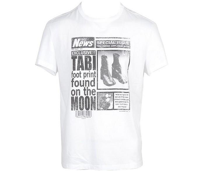 Men's White T-Shirt - Maison Margiela