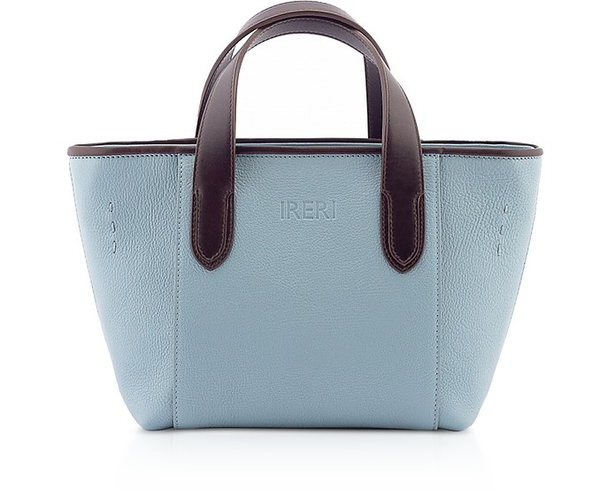 Alisee Genuine Leather Mini Tote Bag - Ireri