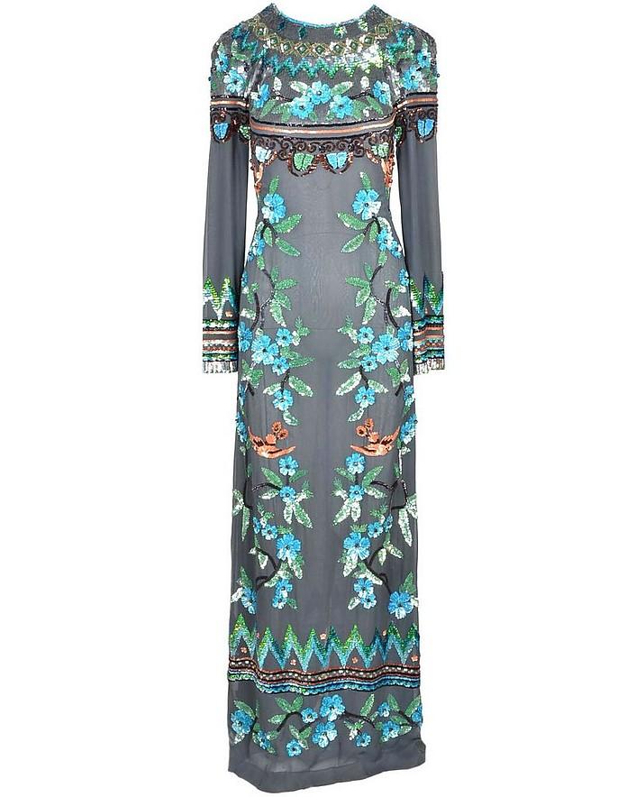 Women's Green Dress - Alberta Ferretti