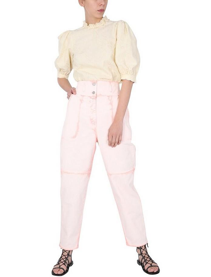 Slouchy Fit Jeans - Alberta Ferretti