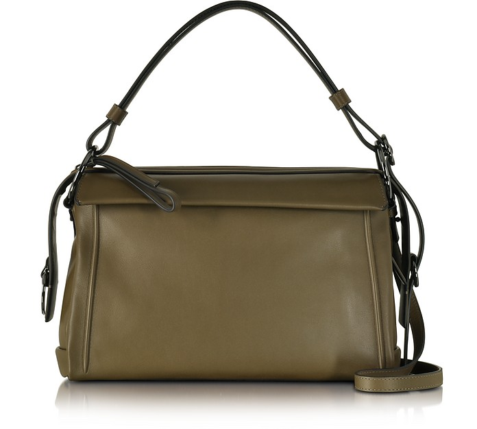Marc by Marc Jacobs Prism 34 Teak Leather Satchel at FORZIERI Canada f4d68449a9ae8