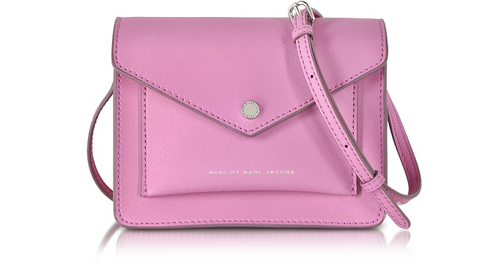 Marc by Marc Jacobs Metropoli Pink Bubblegum Crossbody Bag at FORZIERI cb126d543a7e7