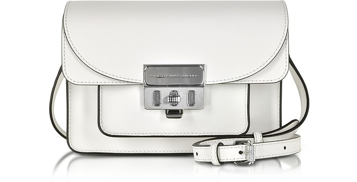 Lip Lock Star White Xbody Bag - Marc by Marc Jacobs