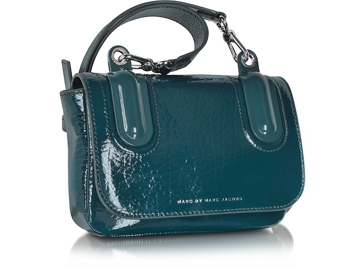 61bb934947 Ball   Chain Hopper Green Leather Crossbody Bag - Marc by Marc Jacobs.  €295