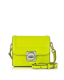 Top Schooly Jax Safety Yellow Leather Crossbody Bag