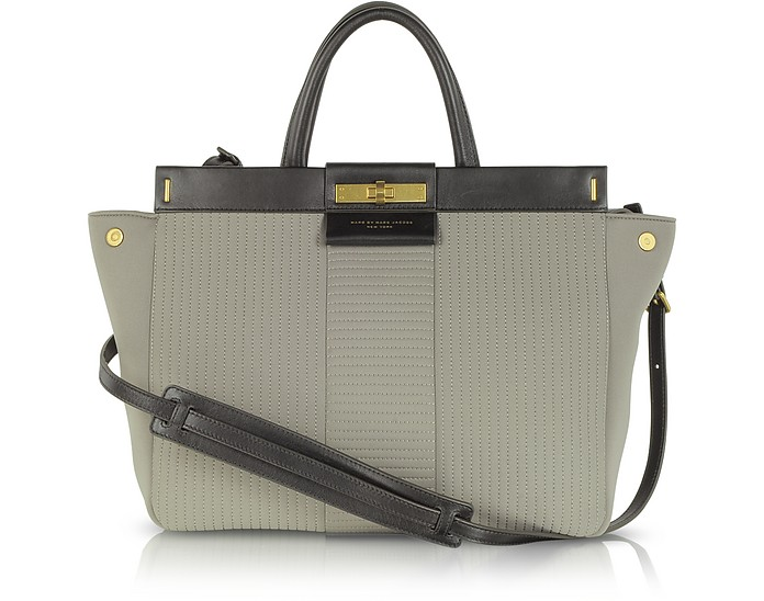 East End Quilted Madame Hilli Neoprene Tote - Marc by Marc Jacobs