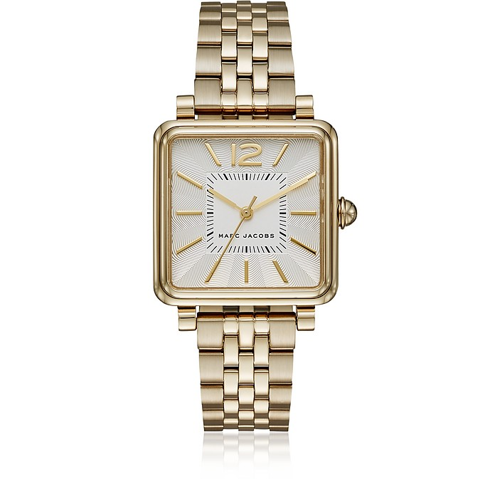 Vic Gold Tone Women's Watch - Marc Jacobs