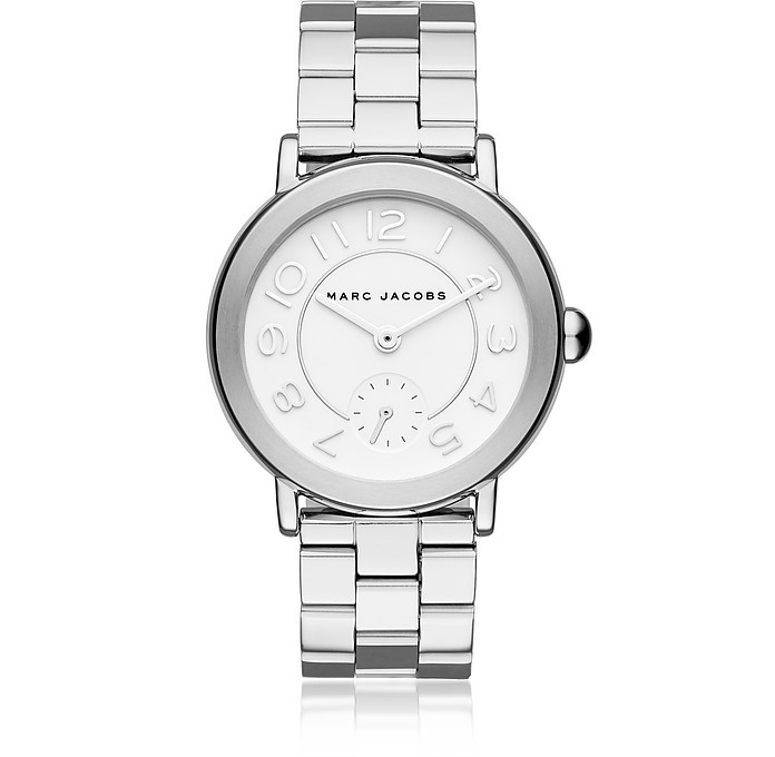 Riley Silver Tone Women's Watch - Marc Jacobs