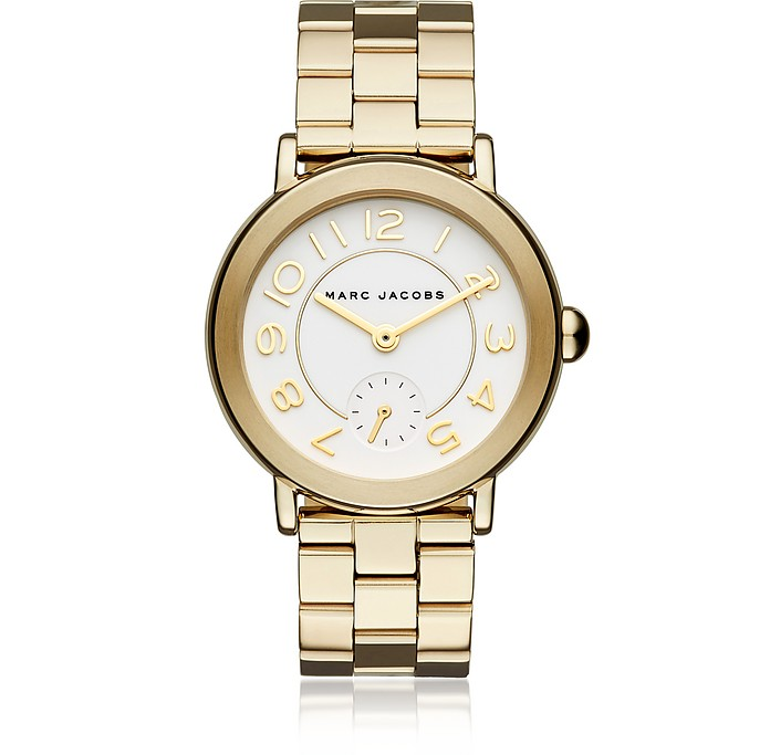 Riley Gold Tone Women's Watch - Marc Jacobs
