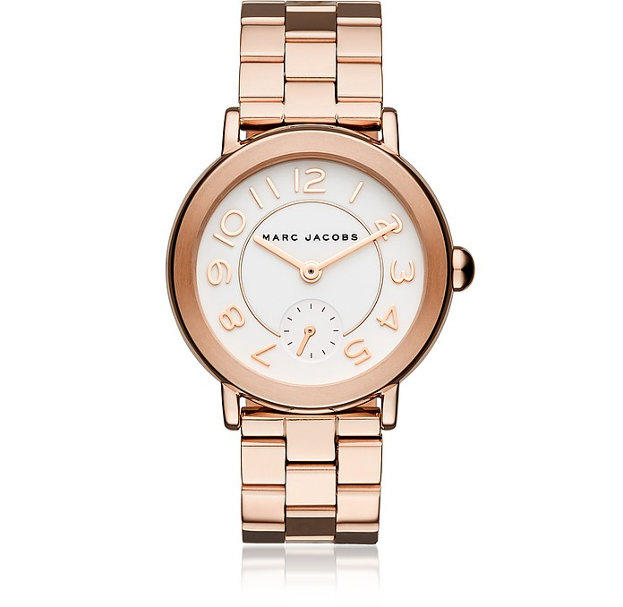 Riley Rose Gold Tone Women's Watch - Marc Jacobs